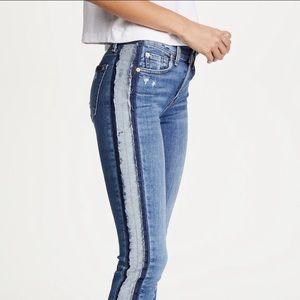 7 For All Mankind Roxanne Reverse Fray Jeans 28
